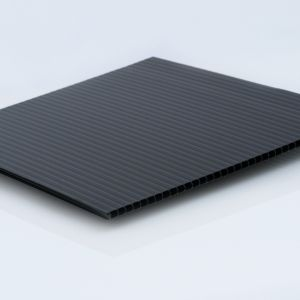 4mm Black Corrugated Plastic Cut-to-Size