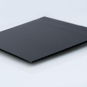 "4mm (0.157"") Black Corrugated 48"" x 96"" | Pallet 275 Sheets"