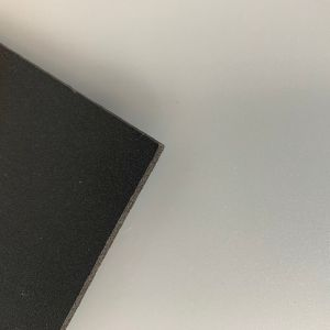 "1/4"" Black Expanded Foam PVC Sheet Cut-to-Size"