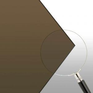 """3/16"""" Bronze (2370) Extruded Acrylic 48"""" x 96"""""""