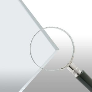 """1/4"""" Clear Abrasion Resistant Polycarbonate Cut-to-Size"""