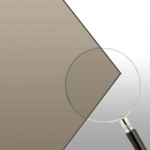 """1/4"""" Grey Polycarbonate Cut-to-Size"""