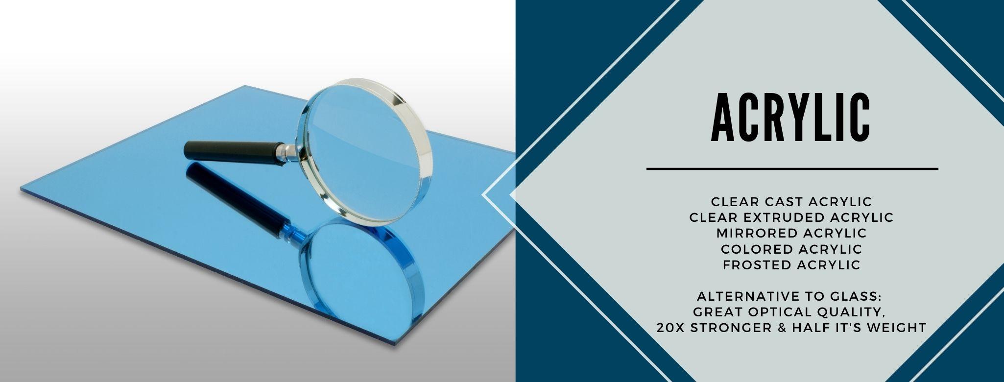 Plexiglass / Acrylic Banner